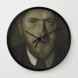 Vilhelm Hammershøi - JF Willumsen Wall Clock