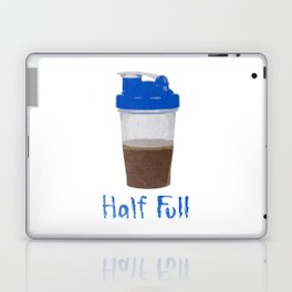 Half Full Laptop & iPad Skin