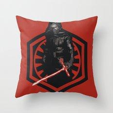 First Order Kylo Ren Throw Pillow