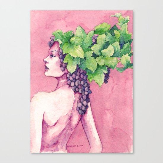 Baccante Canvas Print