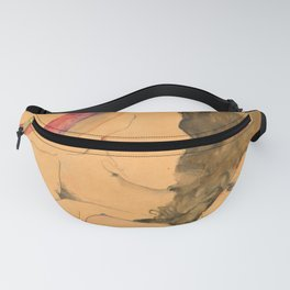 """Egon Schiele """"Two Reclining Nudes"""" Fanny Pack"""