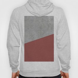Concrete with Chili Oil Color Hoody