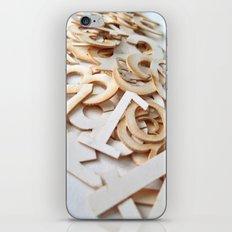 Random Numbers iPhone Skin