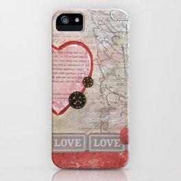 Valentine J'Adore iPhone Case