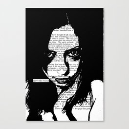Move the World Canvas Print