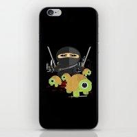 ninja turtles iPhone & iPod Skins featuring Ninja Turtles by Adamzworld