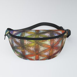 The Flower of Life Symbol Fanny Pack