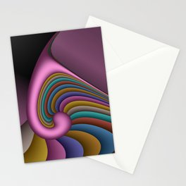 fractal geometry -155- Stationery Cards