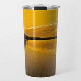Bolsa Chica Wetlands Sunrise  8/26/13 Travel Mug