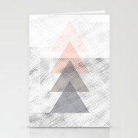 triangles Stationery Cards featuring Triangles by Indiepeek | Marta