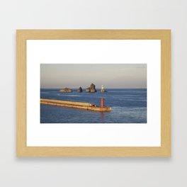 Busan Framed Art Print