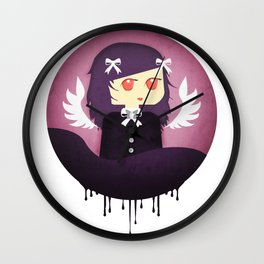The Purple Sister Wall Clock