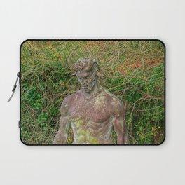 Jersey Satyr Statue Laptop Sleeve