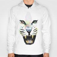 cheetah Hoodies featuring Cheetah  by Tetevi Teteh