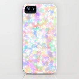 Rainbow Bubbles of Light iPhone Case