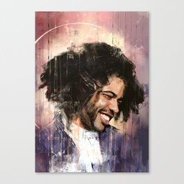 Portrait of Daveed Diggs Canvas Print