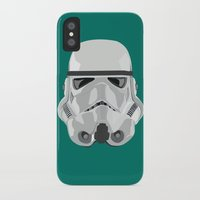 storm trooper iPhone & iPod Cases featuring Storm Trooper by Inza Vita
