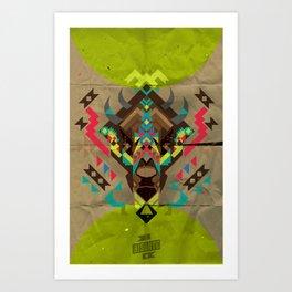 El Bisonte 01 Art Print