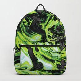 Green Fluid Backpack
