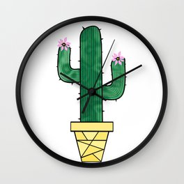 Cute And Prickly Wall Clock