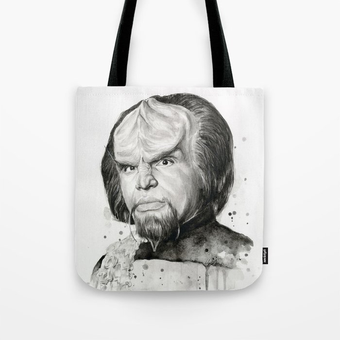 Star Trek: Worf Tote Bag