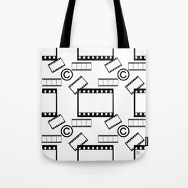 Film © pattern Tote Bag