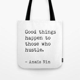 Anaïs Nin quote Tote Bag
