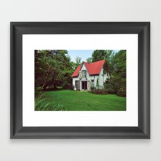 The Lindens Carriage House Framed Art Print