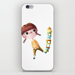 N de Tina iPhone Skin