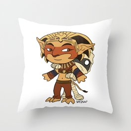 Little Heroes Throw Pillow