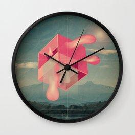 bucolico cubolo Wall Clock