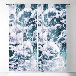 Rough Ocean Blackout Curtain