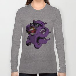 Flight of the Octopus - Mob's Accountant Version Long Sleeve T-shirt