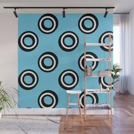 Round Circles Wall Mural