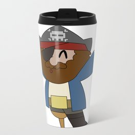 Pirate Love Metal Travel Mug