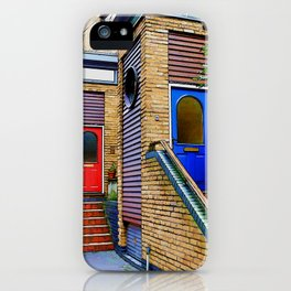 Stairs to Nowhere  -  Greenwich London iPhone Case