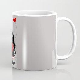 Cats with hearts Coffee Mug