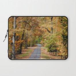 Autumn Passage 2 - Fall Landscape Scene Laptop Sleeve