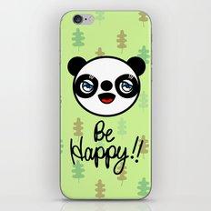 PANDA,GO!! iPhone & iPod Skin