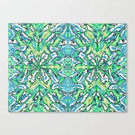 Digital Pattern v.1 Canvas Print