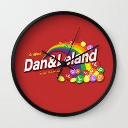 Dan and Leland - Skittles Parody Wall Clock