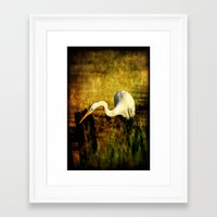 fishing Framed Art Prints featuring Fishing by JMcCool