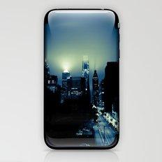 Philly glow iPhone & iPod Skin