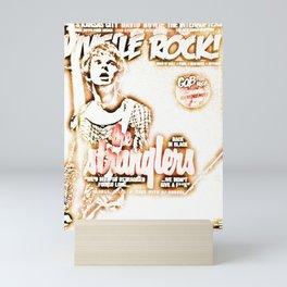 Sleazy Stranglers Brown Burnel Mini Art Print