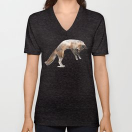 Jumping Fox Unisex V-Neck