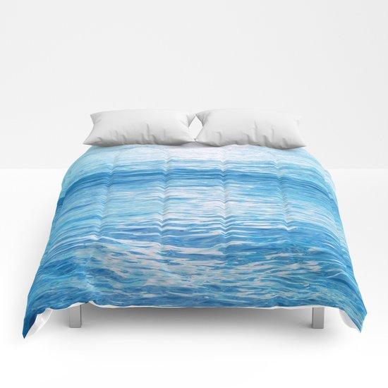 Cerulean Sea Comforters