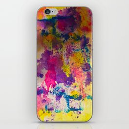 Water Color Fanatic iPhone Skin