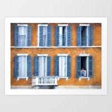Look Through Any Window Art Print