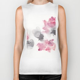 180807 Abstract Watercolour 6| Colorful Abstract |Modern Watercolor Art Biker Tank