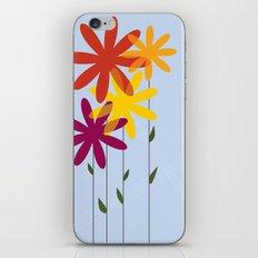 flowers 1-01 iPhone & iPod Skin